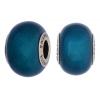 Swarovski Bead 5890 Becharmed 14mm Crystal Pearl Petrol Blue